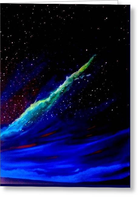 Starry Night Greeting Card by Scott Wilmot