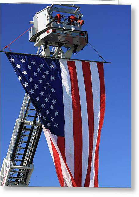 Flag Of Usa Greeting Cards - Stars and Stripes Greeting Card by Karol  Livote