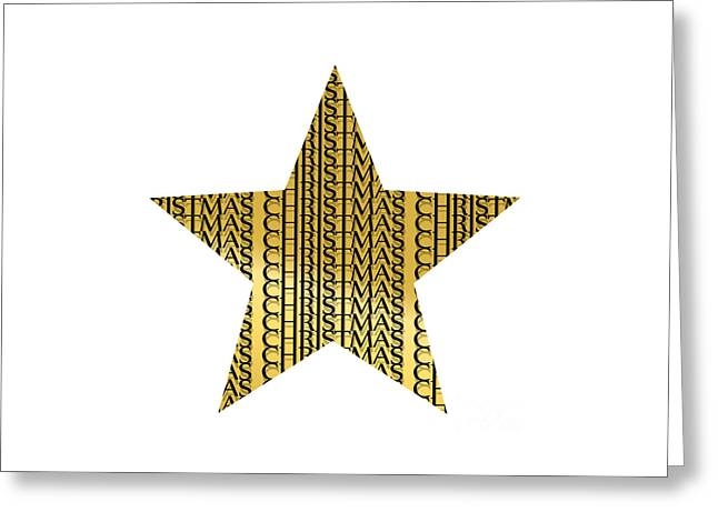 Christmas Star Greeting Cards - Stars For Christmas Greeting Card by Steffi Louis