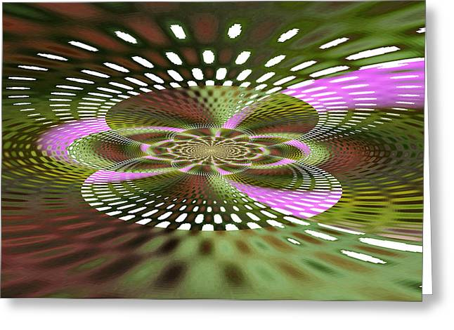 Book Cover Art Greeting Cards - Starship Greeting Card by Rose  Hill