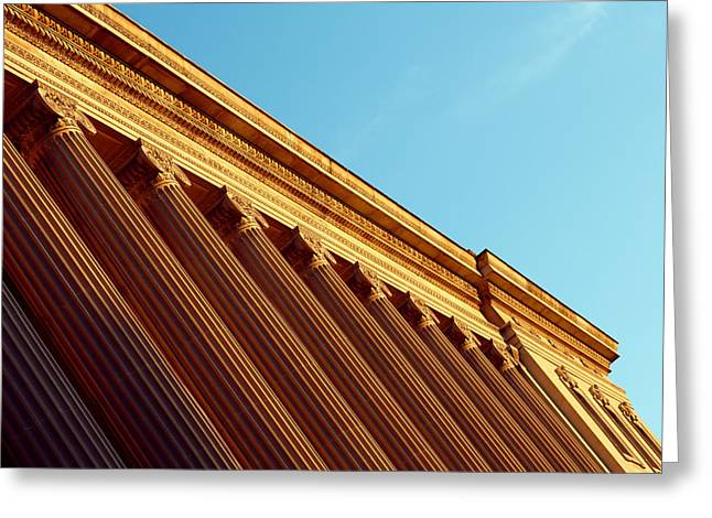 Stately Columns Greeting Card by Todd Klassy