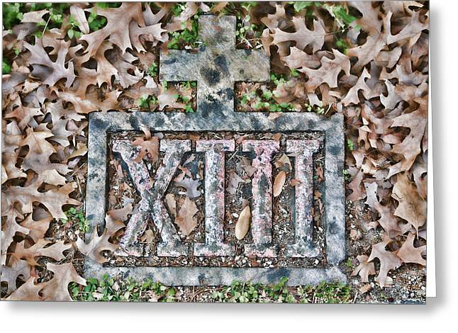 Holy Week Greeting Cards - Station 13 Full Faded - San Juan Capistrano Greeting Card by Stephen Stookey