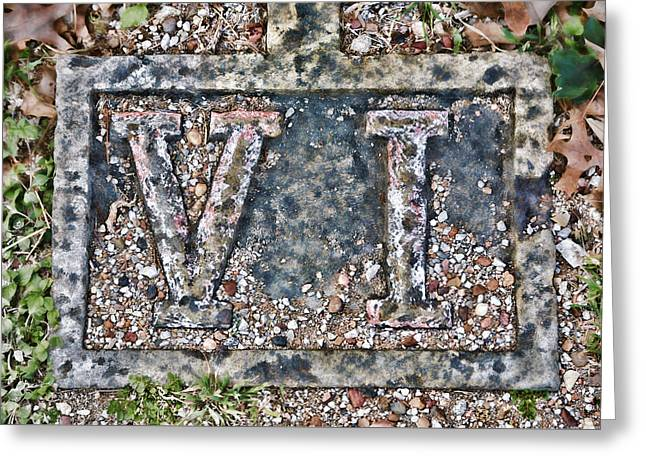 Holy Week Photographs Greeting Cards - Station 6 Faded - San Juan Capistrano Greeting Card by Stephen Stookey