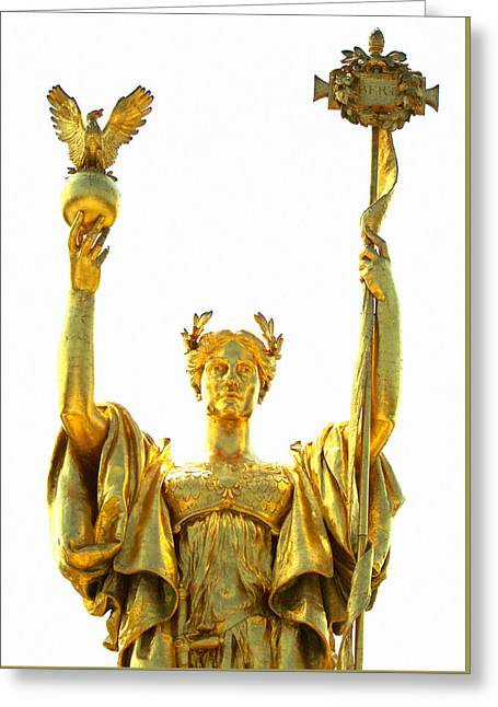 Second Lady Greeting Cards - Statue of the Republic Greeting Card by Kyle Hanson