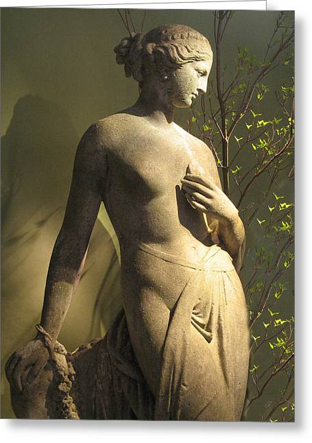 Greek Sculpture Greeting Cards - Statuesque Greeting Card by Jessica Jenney