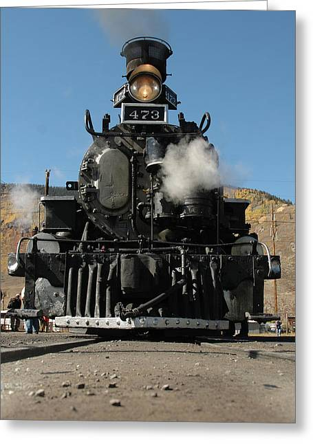 Jerry West Greeting Cards - Steam Power Greeting Card by Jerry McElroy