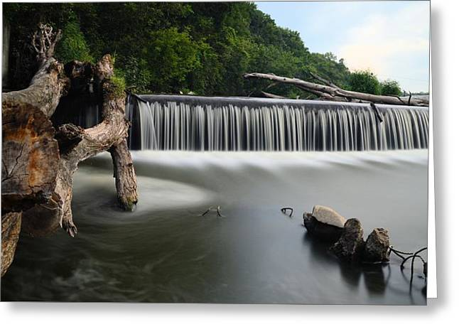 Exposure Greeting Cards - Steamboat Rock Panorama Greeting Card by Bonfire Photography
