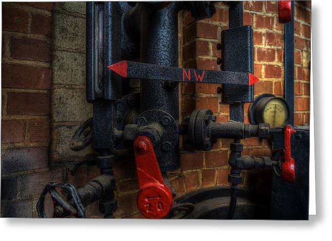 Industrial Concept Greeting Cards - Steampunk Greeting Card by Frank Meitzke