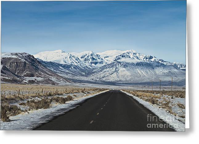 Kim Photographs Greeting Cards - Steens Mountain East Side Greeting Card by Kim  Rollins    Pride Imaging Fine Arts