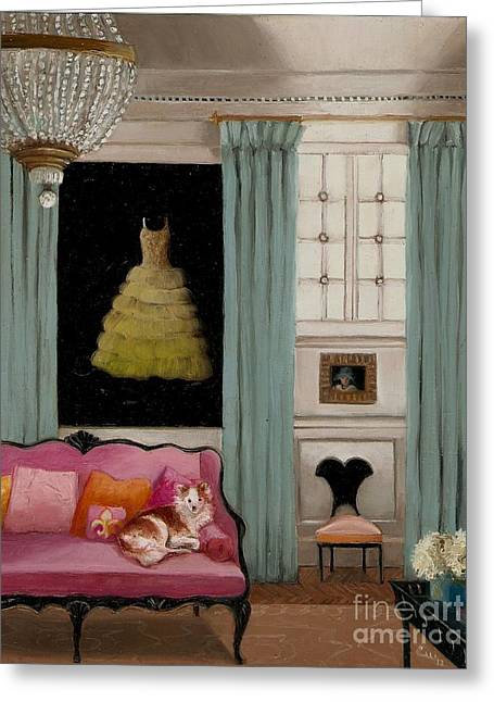 Recently Sold -  - Powder Greeting Cards - Stella In Paris 6e Greeting Card by Cara alex White