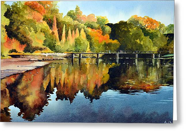 Recently Sold -  - Stepping Stones Greeting Cards - Stepping Stones Bolton Abbey Greeting Card by Paul Dene Marlor