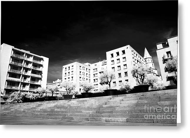 Steps In Marseille Greeting Card by John Rizzuto