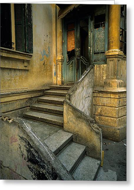 Osten Greeting Cards - Steps. Greeting Card by Tarek Charara