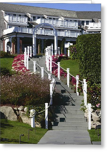Chatham Greeting Cards - Steps to CBI Greeting Card by Heather MacKenzie