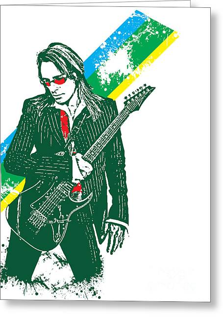 Steve Vai No.02 Greeting Card by Unknow