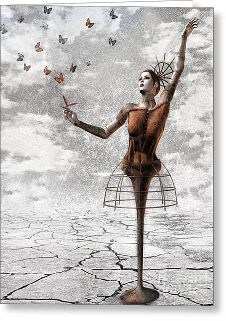 Surrealism Greeting Cards - Still Believe Greeting Card by Photodream Art