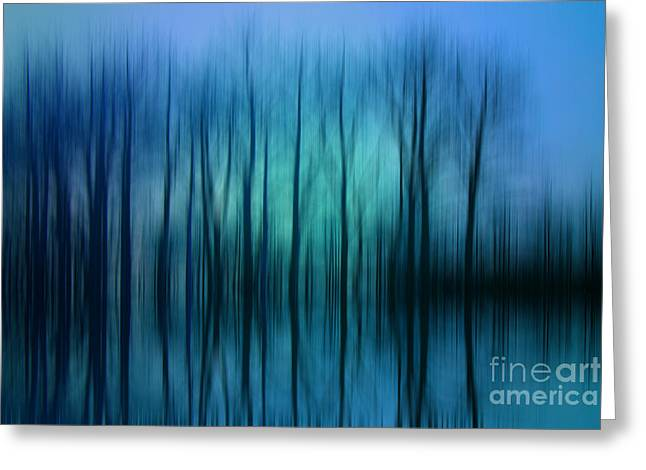Still Got The Blues For You Greeting Card by Varinia Blyth