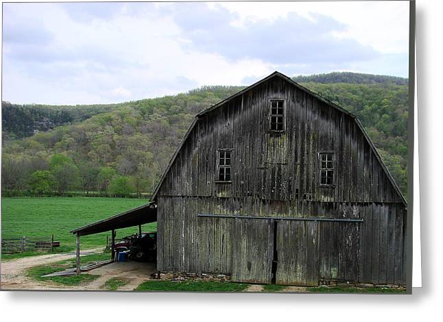 Old Barns Greeting Cards - Still has a purpose Greeting Card by Mary Halpin