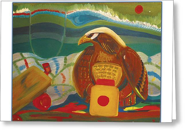 Extinction Of Species Greeting Cards - Still Life 1990 Greeting Card by Michael Lanier