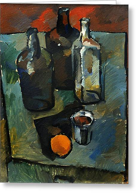 Valeriy Mavlo Greeting Cards - Still life 3 Greeting Card by Valeriy Mavlo