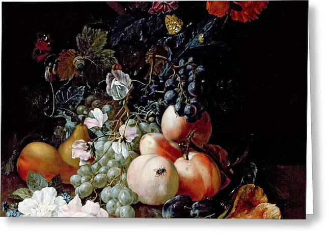 Still Life  Greeting Card by Johann Amandus Winck