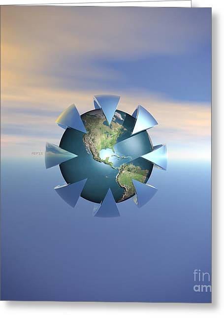 Terra Firma Greeting Cards - Still Life On Earth Greeting Card by Phil Perkins
