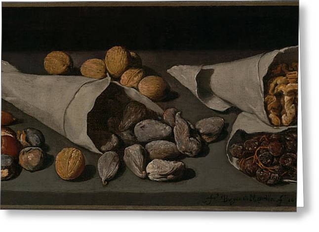 Still Life With Dried Fruit Greeting Card by Mountain Dreams