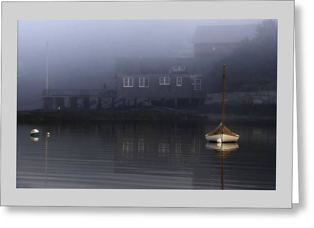Down East Greeting Cards - Still of Morning  Greeting Card by Thomas Schoeller