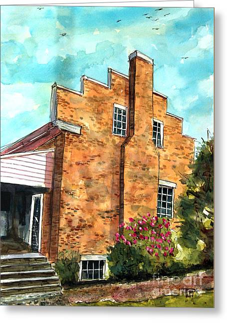 Still Standing Tall Greeting Card by Tim Ross