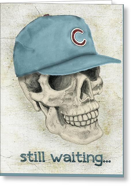 Still Waiting Too Greeting Card by Larry Scarborough