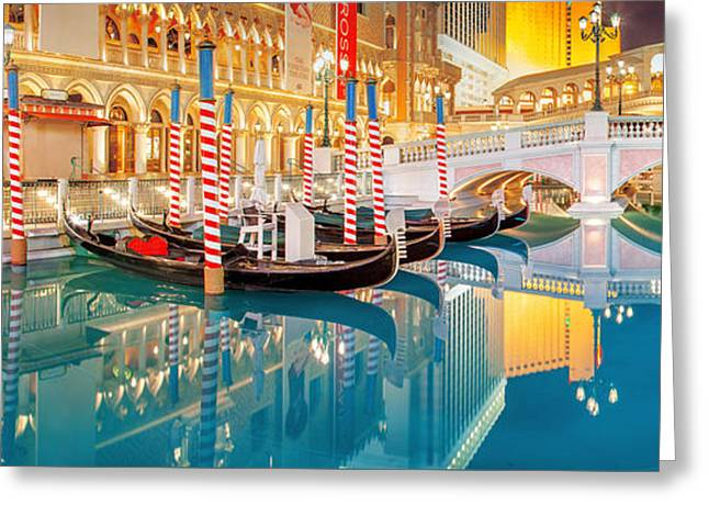 Las Vegas Greeting Cards - Still Waters Greeting Card by Az Jackson