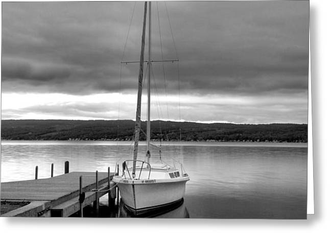 Still Waters Greeting Card by Steven Ainsworth