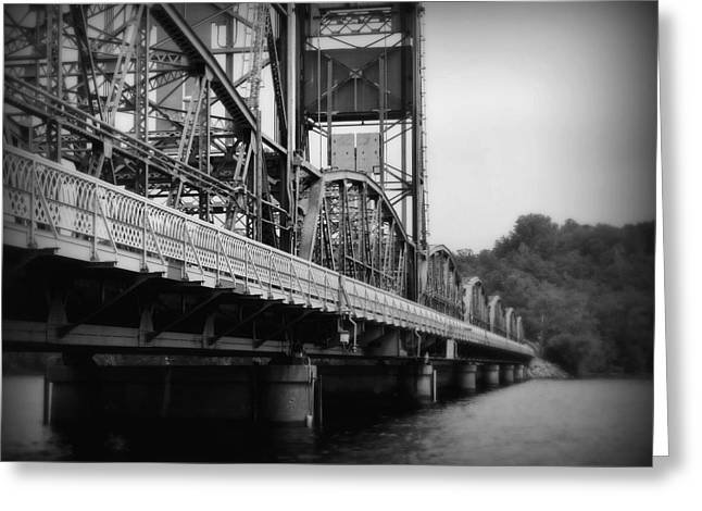 Recently Sold -  - Iron Greeting Cards - Stillwater Bridge  Greeting Card by Perry Webster