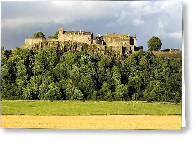 Land Use Greeting Cards - Stirling Castle, Scotland, Uk Greeting Card by Duncan Shaw