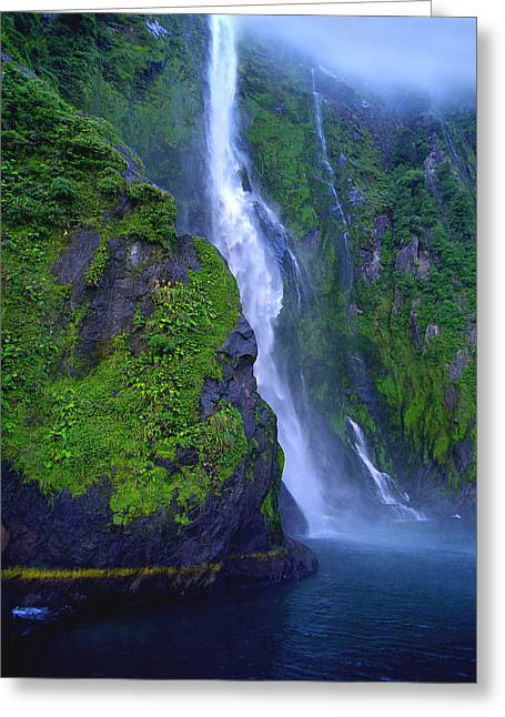 Kevin Smith Greeting Cards - Stirling Falls Greeting Card by Kevin Smith