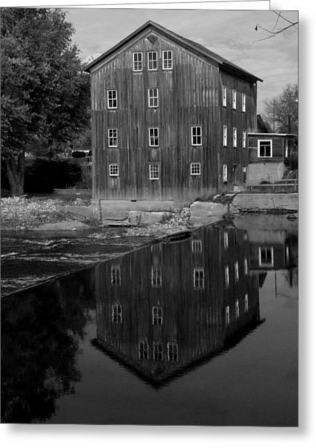 Stockdale Mill Greeting Card by Michael L Kimble