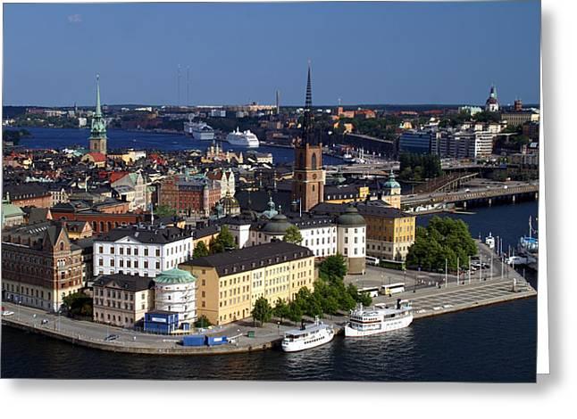 Stockholm Greeting Cards - Stockholm Greeting Card by Peter Verdnik