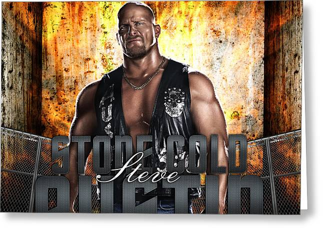 Stones Digital Art Greeting Cards - Stone Cold by GBS Greeting Card by Anibal Diaz