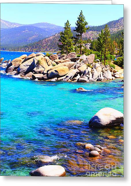 San Francisco Bay Greeting Cards - Stone Talk  Greeting Card by PlusO FineArt