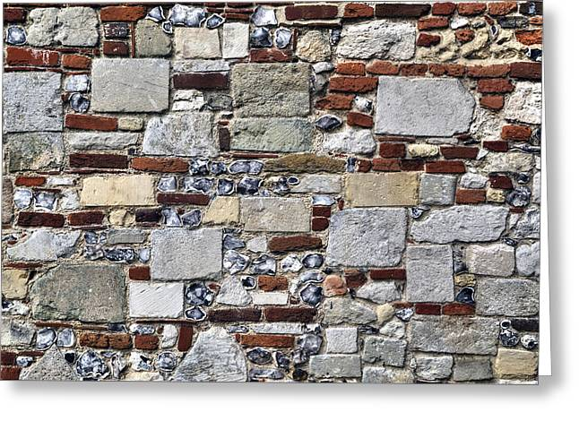 Stonewall Greeting Cards - Stone Wall Greeting Card by Joana Kruse