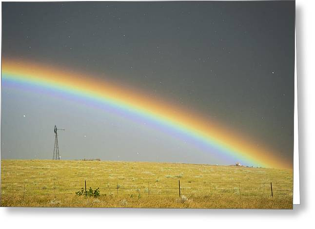 Summer Storm Greeting Cards - Stoneham Colorado Greeting Card by Colt Forney