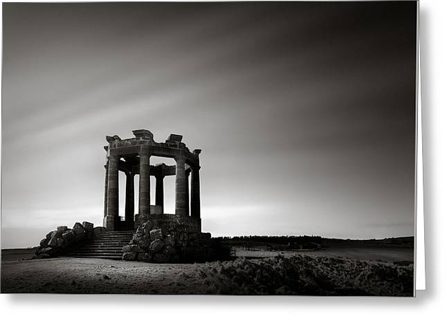 Stonehaven War Memorial Greeting Card by Dave Bowman