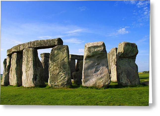 Photoshop Elements 7 Greeting Cards - Stonehenge No 1 Greeting Card by Kamil Swiatek