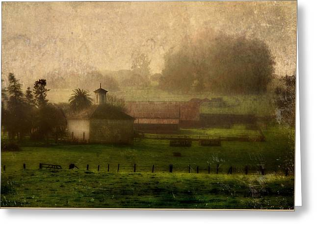 Pastimes Greeting Cards - Stony Pt. Barn Greeting Card by T J Hankins