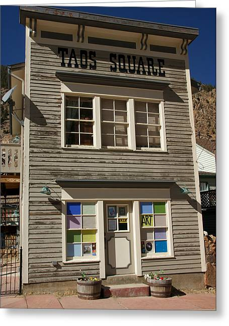 Store Fronts Greeting Cards - Store Front Greeting Card by David Pettit