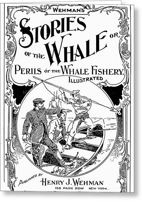 Front Page Greeting Cards - Stories Of The Whale Greeting Card by Granger