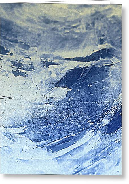Storm At Sea Greeting Card by Nancy Kane Chapman