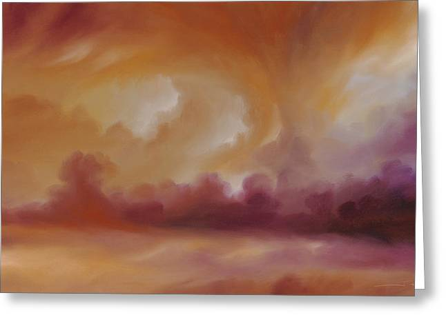 Storm Clouds 2 Greeting Card by James Christopher Hill