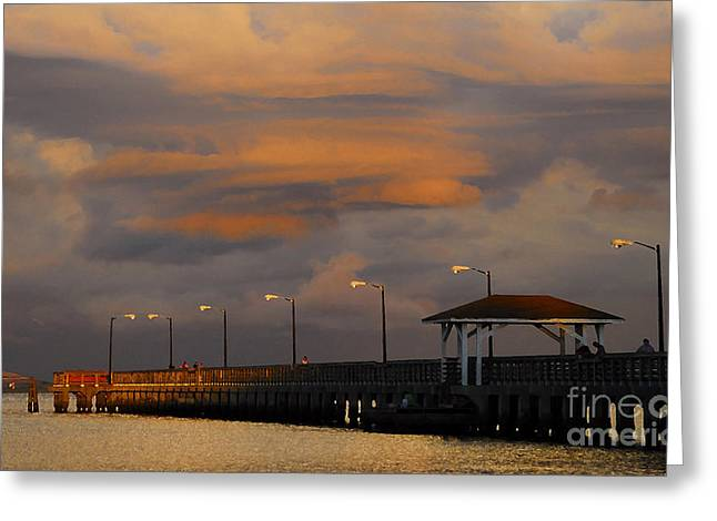 Storm Art Greeting Cards - Storm over Ballast Point Greeting Card by David Lee Thompson