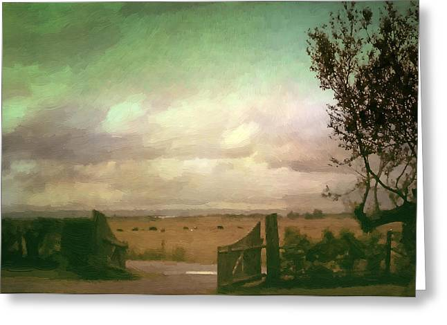 Annapolis Valley Greeting Cards - Storm Over the Annapolis Valley Greeting Card by Doug Matthews